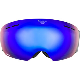 Alpina Granby Multimirror Goggle black matt blue spherical